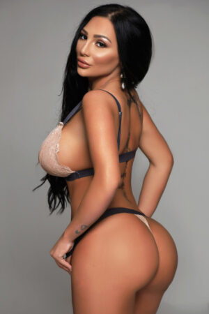 Aliyah Best Booty Very sexy Black Bikini at 24hr London Escorts