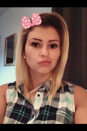 Paddington escort Aura Selfie wearing pretty filter Bow 24hr London Escorts Agency