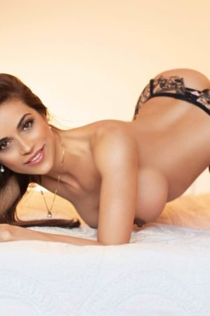 Gloucester Road Escort Cassie. Wearing stocking and suspenders at 24hr London Escorts Agency