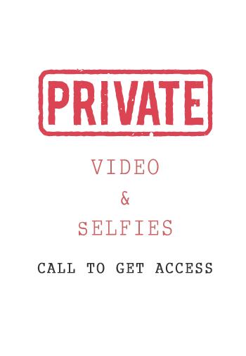 Private Video & Selfie at 24hr London Escorts