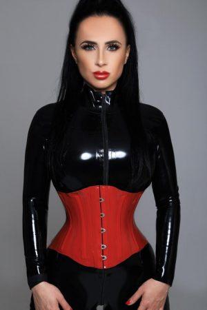 Gloucester Road escort Zenaida wearing racy black bikini at 24hr London Escorts